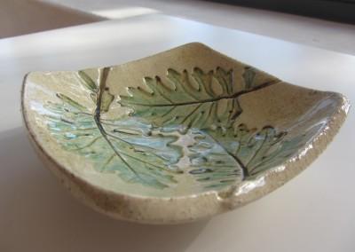Targentium leaf bowl