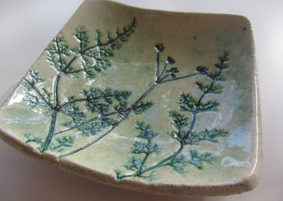 Small fennel frond bowl