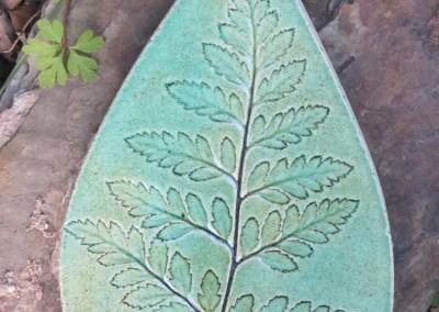 Soft fern in green